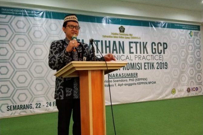 Pelatihan Etik GCB (Good Clinical Practice) dan Akreditasi Komisi Etik 2019