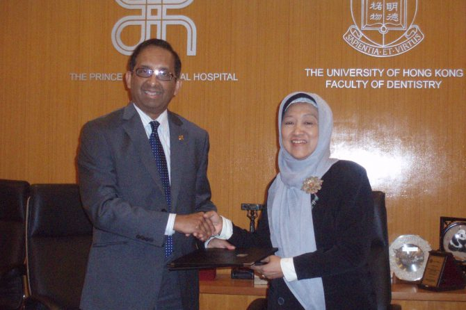 Fakultas Kedokteran Gigi Unissula Kerjasama dengan HongKong University