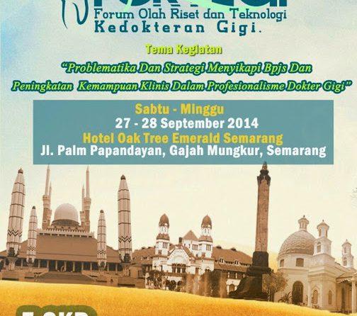 Seminar FORTEGI 2014- FINAL ANNOUNCEMENT