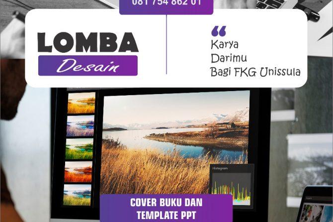 Lomba Desain Cover Buku FKG Unissula 2019