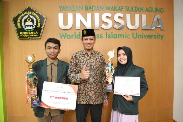 Mahasiswa FKG Unissula Raih Juara MTQ Internasional
