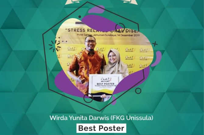 Mahasiswa FKG Raih Juara Best Poster 2019