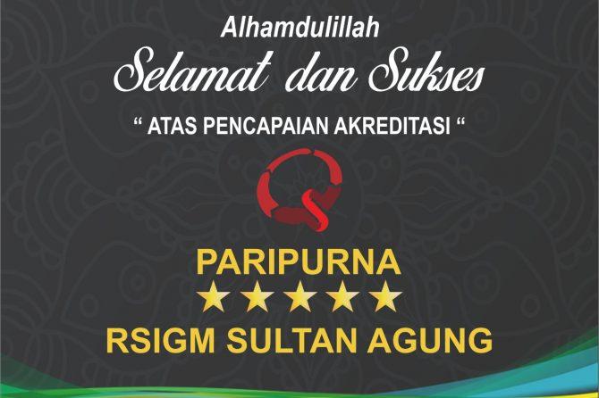 Selamat dan Sukses RSIGM Sultan Agung