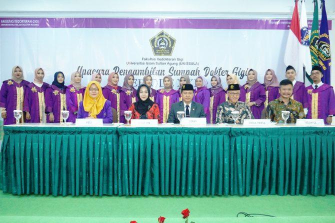Fakultas Kedokteran Gigi Unissula Semarang Luluskan 261 Dokter Gigi