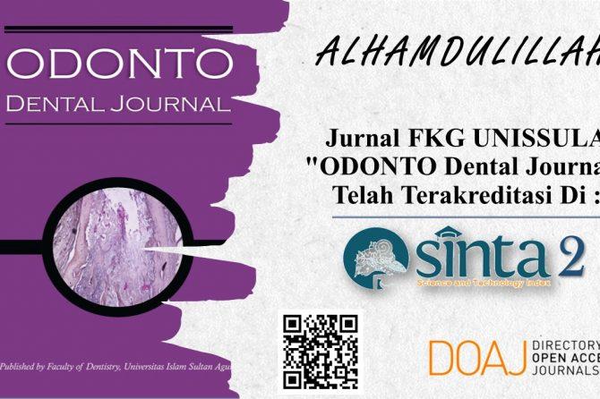 Selamat dan Sukses ODONTO Dental Journal